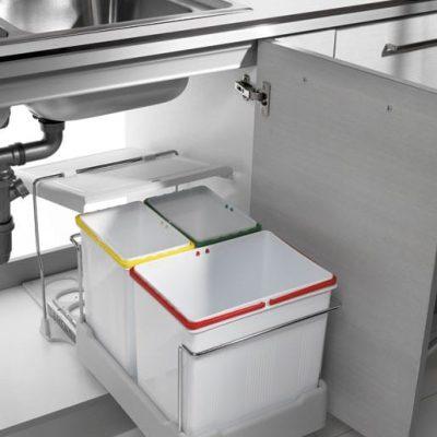 cubos reciclaje cocina